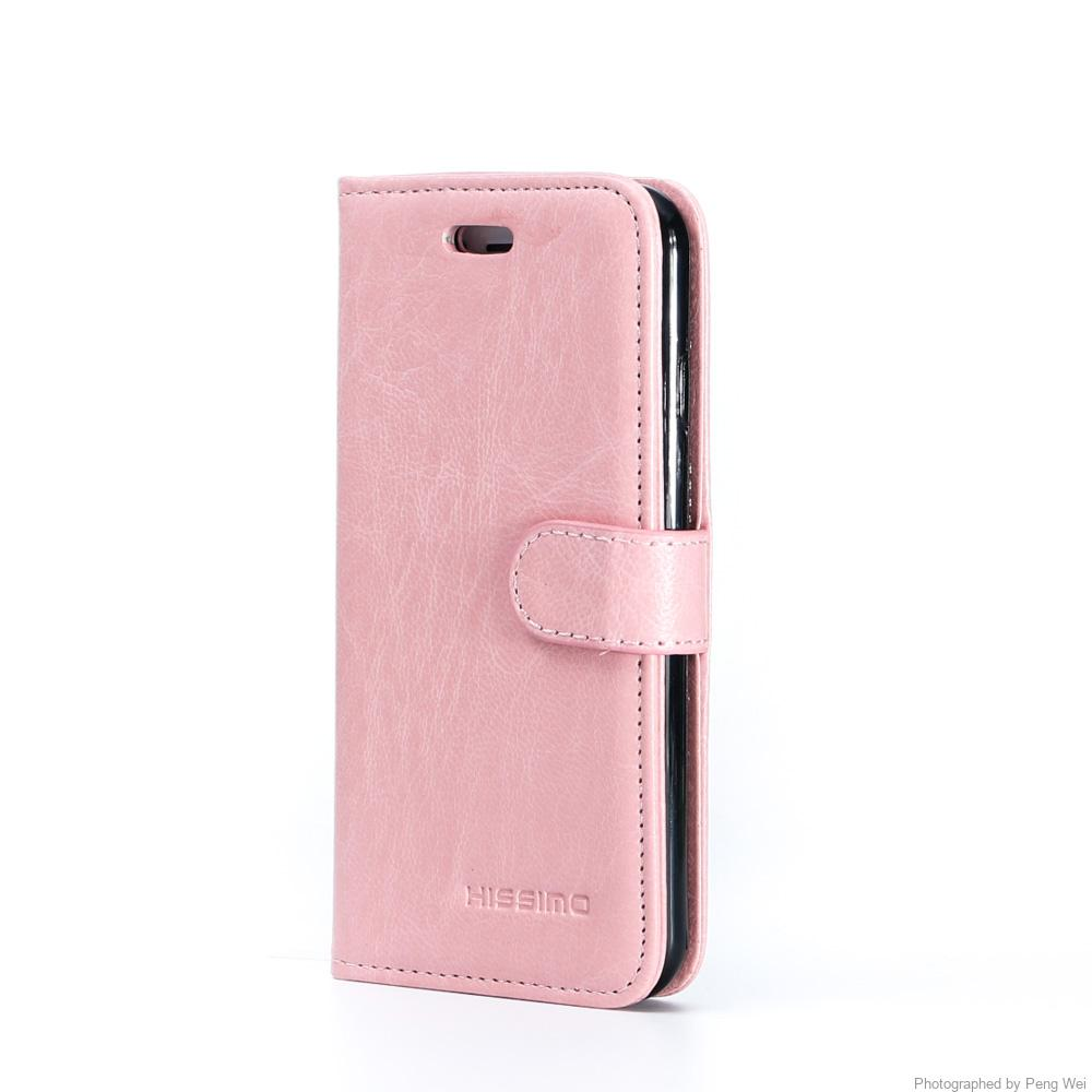 quality design cad44 85a76 HISSIMO iPhone6s Case Cover [3 Card Slots] [Wallet] [Slim] [PU Leather]  [TPU] – Pink Cellphone Case for iPhone6 and iPhone6s 4.7″